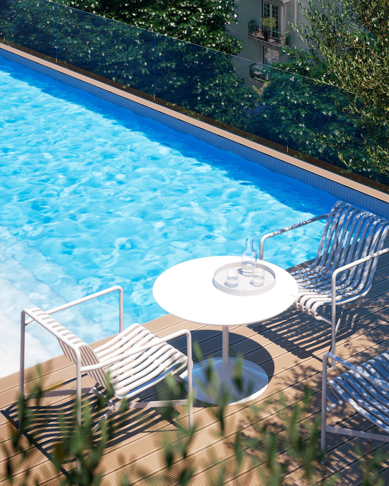 Lumino Lisbon, Campo Pequeno Pool